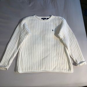 Ralph Lauren Line Knit Crewneck Sweater
